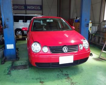 VWポロ修理