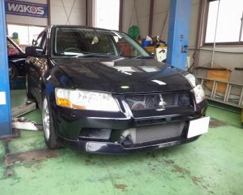 三菱ランサーエボリューションⅦ修理