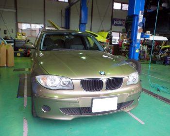 BMW116i修理