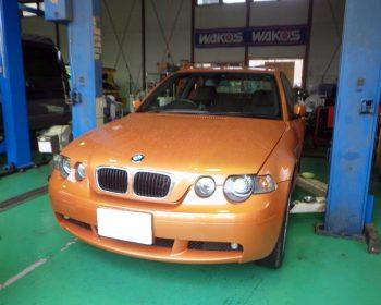 BMW318ti修理