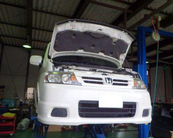 ホンダステップワゴン修理