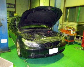 BMW525i修理