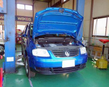 VWゴルフトゥーラン修理