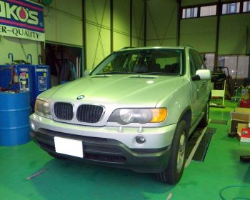 BMWX5修理