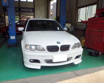 BMW330i修理