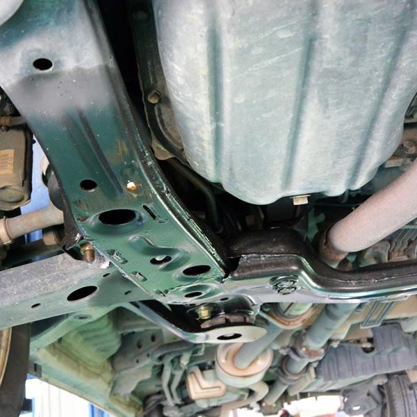 パワステホースリターンラインオイル漏れ修理