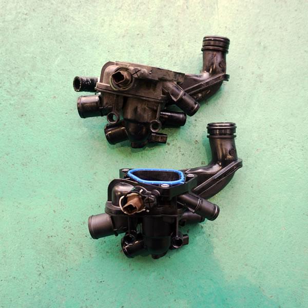 水温センサー不良・サーモスタット交換修理
