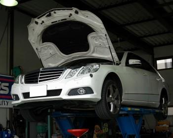 BenzE300修理