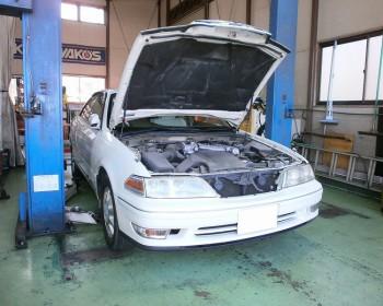 トヨタマークⅡ車検