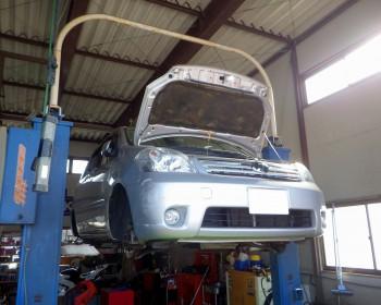 トヨタラウム車検