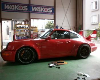Porsche911/964修理