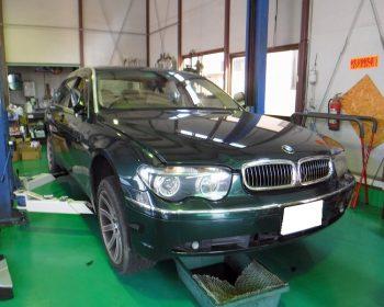 BMW760Li修理