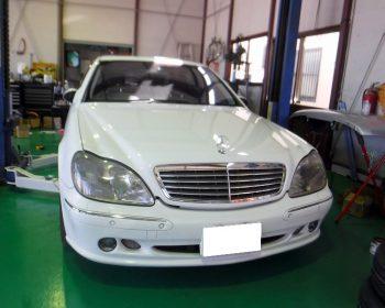 BenzS500修理