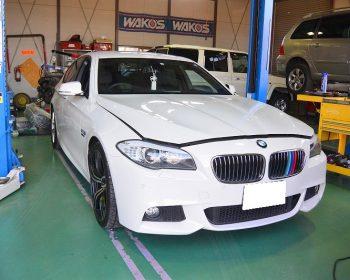 BMW528i車検