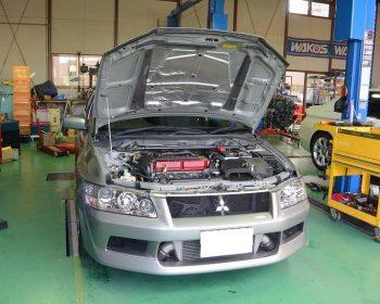 三菱ランサーエボリューション9修理