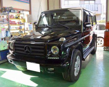 BenzG500修理