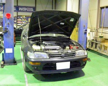 トヨタカローラXF修理
