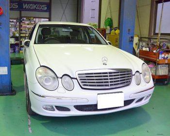 BenzE320車検