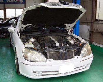 BenzS320修理