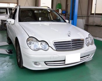 BenzC200修理