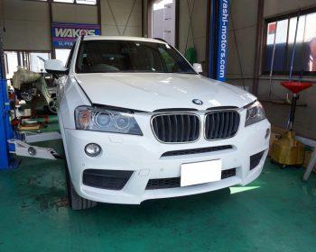 BMWX3車検