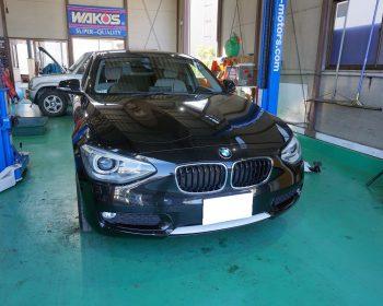 BMW118i修理