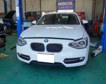 BMW120i車検
