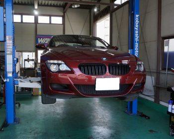 BMWM6修理