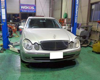 BenzE500車検