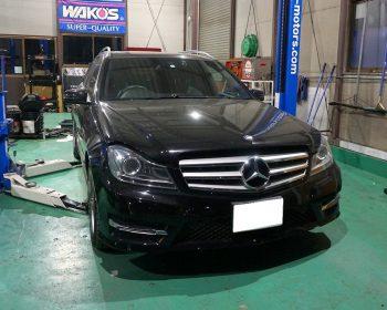 MercedesBenzC200修理