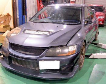 三菱ランサーエボリューションⅧ車検